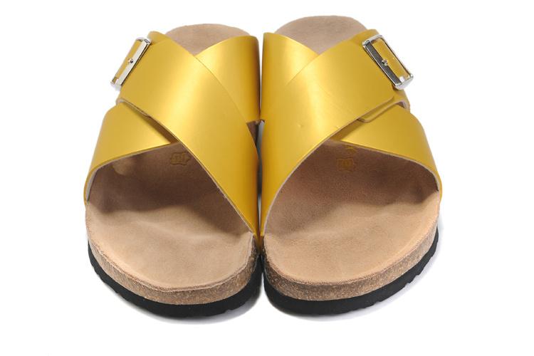 83ebe5a9b6dc Birkenstock Mayari Leather Green Sandals Neon Yellow Birkenstock ...